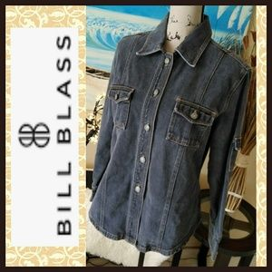 Like New Bill Blass Denim Jacket